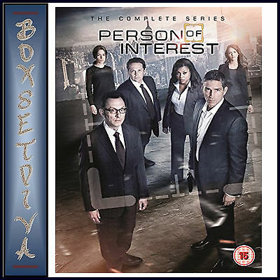 Person Of Interest - Complete Series  1 2 3 4 & 5 *Brand New Dvd Boxset***