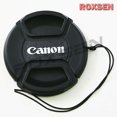 77mm 77 mm Pinch Snap on front lens cap for Canon E-77 II EF EF-S mount lens