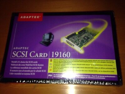 SCSI CARD 19160 ADAPTEC for ULTRA 160 Hard Drives And Devices.New, OK for resell