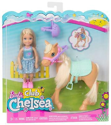 Barbie Club - Chelsea Doll and Pony - DYL42 - NEW