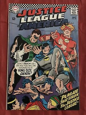 Justice League of America #44 DC Comics FN