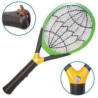 Native Spring Electric LED Fly Swatter Bug Zapper with Built-in Rechargeable Bat