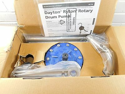 """Glass Filled Polypropylene Hand Operated Drum Pump Rotary 7GPM 3/4"""" NPT"""