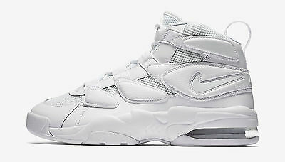 sports shoes 0a846 5e01c Nike Air Max2 Uptempo 94  922934 100 Triple White Men SZ 7.5 - 13