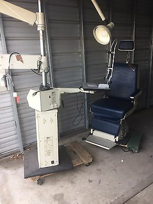 Reichert 14360 Chair And Stand Ophthalmic