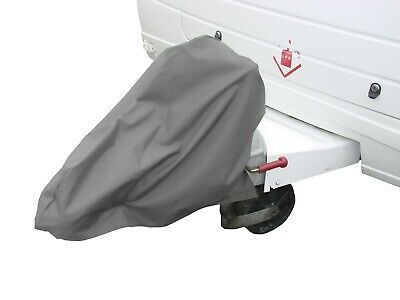 Universal Caravan Hitch Cover Grey Trailer Tow Ball Coupling Lock Cover SWHC1