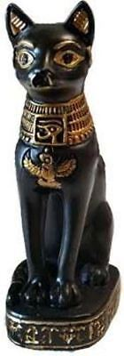 """3"""" Bastet Bast Was The Ancient Egyptian Goddess Of Protection And Cats"""