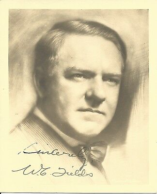 W.C. FIELDS Hand Signed 5x6 Autographed Matte Photo With COA