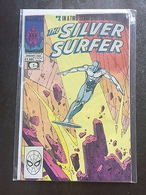 Silver Surfer #2 - Moebius & Stan Lee Parable 1989 Marvel Comic Book NM