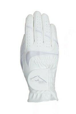 USG Rsl Rom Riding Gloves White - Rider Wear