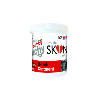 NAF Love The Skin He's In D-Itch Ointment - 600 g - Fly, Louse & Insect Control