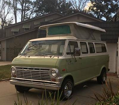 1970 Ford E-Series Van HAVE SOME FUN THIS SUMMER 1970 RARE Ford Econoline Van, Pop Top Camper by Chinook, 302 V-8, AC, beautiful