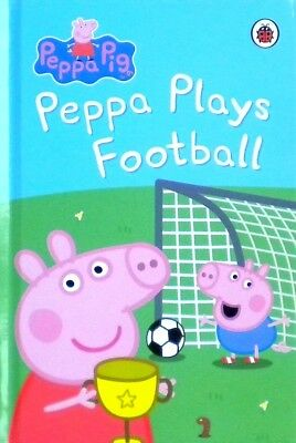 Peppa Pig | Peppa Plays Football | Children's Early Learning Book | Ladybird|New