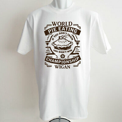 Wigan Warriors T-Shirt Rugby World Champions Mens Clothing Tshirt Gift