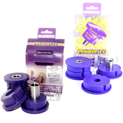 Powerflex Rear Diff Bush Kit For PFR44-120/121 For Mitsubishi Evo 4 5 6 7 8 9