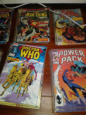 Huge LOT of MARVEL/DC COMICS Spider-man New Mutants Doctor Who others