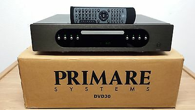 Primare DVD30 Black Ultra High-End Multi Channel CD/DVD/SACD Player *Mega Rare*