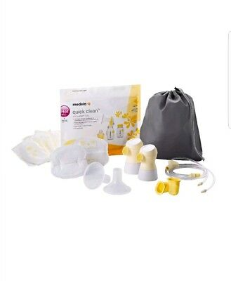Medela Sonata Breast Pump Double Pumping Accessories & Parts Kit 68053 ~ New