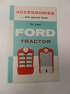 Brochure Accessories and Special Items For Your Ford Tractor AD-6336-2