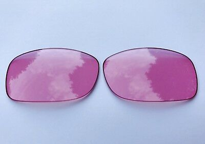 Hd Clear Pink Replacement Lenses For Oakley Fives Squared & 3.0