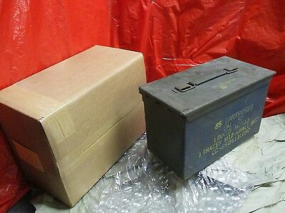 US Military Surplus .50 Cal Ammo Can Metal Storage Box FAT 50 | M15A2 M38