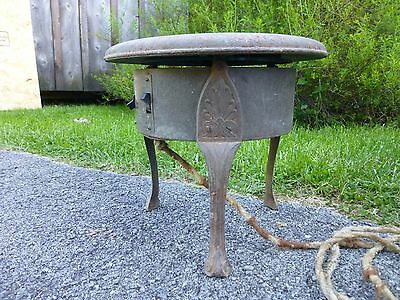 Rare Antique Hoffman Specialty Co. Thermador Heater Cast Iron Electric Works!