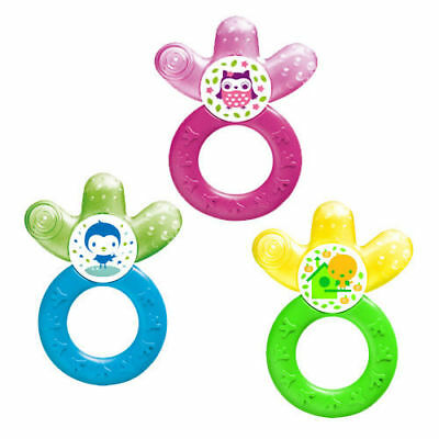 MAM Cooler Baby Teether for Back Teeth 4+ Months- Water Filled Cooling Teether