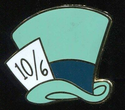 Character Hats Mystery Mad Hatter Disney Pin 89378