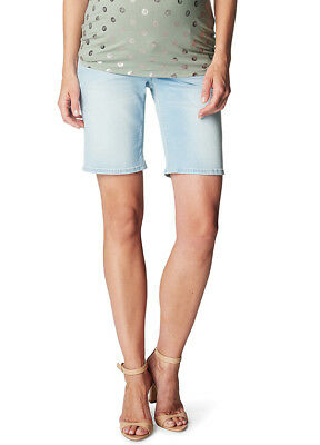NEW - Esprit - Bleached Denim Shorts - Maternity Shorts