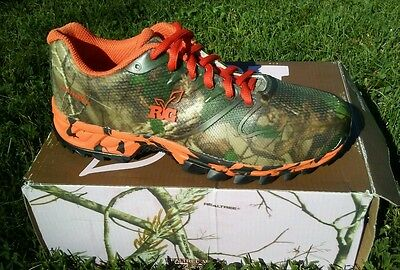f9dbdb7d98f73 REALTREE GIRL MAMBA XTRA CAMO & Orange Ladies SHOES, HIKING, CAMPING ...