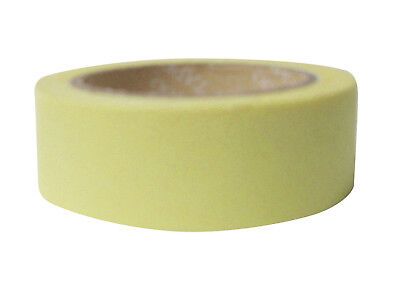 1x Washi tapes Craft Supplies for Scrapbooking Bright Yellow Tapes New 15mmx10M