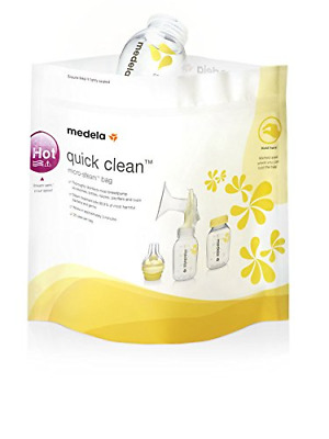 Quick Clean Microvave Micro Steam Sterilisation Baby Accessory Sterilizer Bags