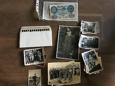 Lot of VTG WW2 WWII Photos c. 1940's - Soldiers & Life During War  (L9-G2)