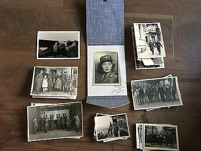 Lot of VTG WW2 WWII Photos c. 1940's - Planes, Aircraft, and Soldiers (L9-G3)