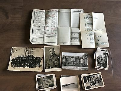 Lot of VTG WW2 WWII Photos c. 1940's - Planes, Aircraft, and Soldiers (L9-G5)