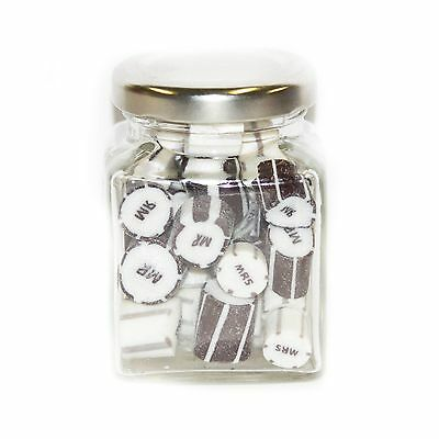 Rock candy, bombinere, candy bar, weddings, party, mr and mrs, lollies