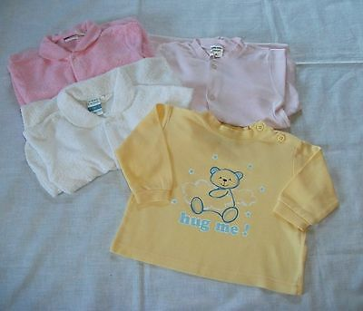 Bulk Size 0 Baby Girls 3 Jumpsuits & Sleep Top Target Kmart Snooze Zone