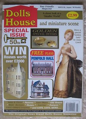 Dolls House and minature scene Issue 50 August 1998