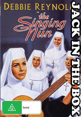 The Singing Nun DVD NEW, FREE POSTAGE WITHIN AUSTRALIA REGION ALL