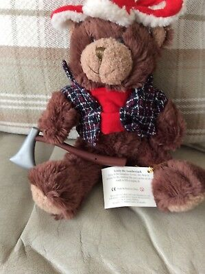 Teddy Bear Collection Louis The Lumberjack   with tag