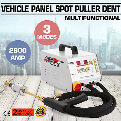 2600A Vehicle Panel Spot Puller Dent Spotter Dent Pulling Repair Power-Saving