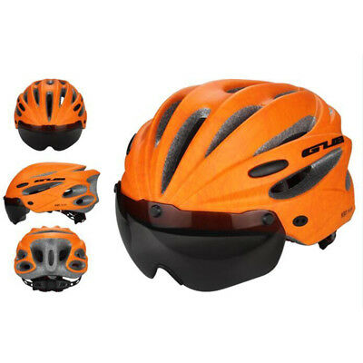 Unisex Cycling Bicycle Adult Safety Road Bike Helmet Head Protector With Visor