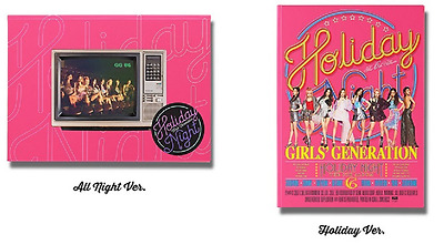SNSD Girls' Generation 6th Album[Holiday Night] CD+Booklet+Photocard+Poster NEW