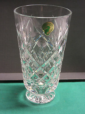 Waterford Crystal Wave 6 Quot Vase Brand New In Box Made In