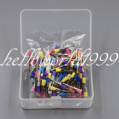100 Pc Mix Color Dental Polisher Nylon Latch Flat Brushes Polishing Prophy Brush