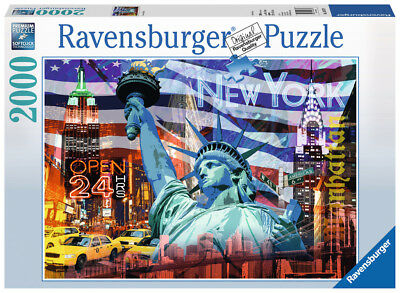 Ravensburger 16687 - New York Collage, 2000 Teile Puzzle