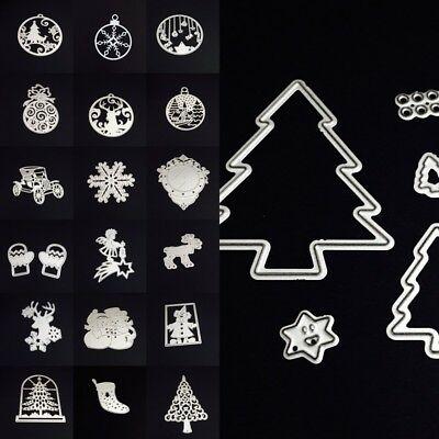 All Set Christmas Cutting Dies Stencil Scrapbooking Embossing Cutter DIY Mould