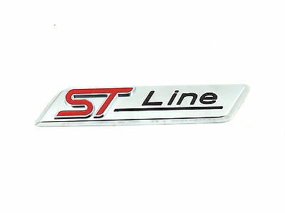Genuine New FORD ST LINE LEFT or RIGHT WING BADGE Emblem For Focus III Mk3 2016+