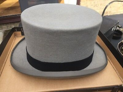 Vintage Bowler Hat - USED - 6 7/8 - Harry Reed - Christys London With Box