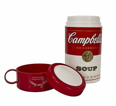 NEW - Campbell's Soup 11-1/2-Ounce Thermos- contains everything